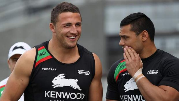Brain snap: Burgess was left red-faced after incriminating camera angles were widely displayed.