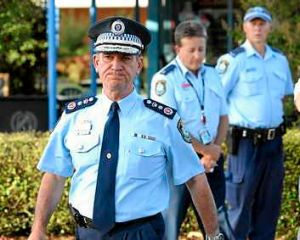 """Police Comissioner Andrew Scipione: """"You can't just land these numbers over an extended period of time and say it's ..."""