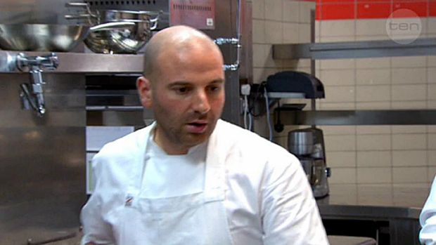 George Calombaris and six <i>MasterChef</i> contestants take over the Ossiano kitchen at The Palms Hotel Atlantis, where ...