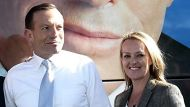 Tony Abbott and Fiona Scott