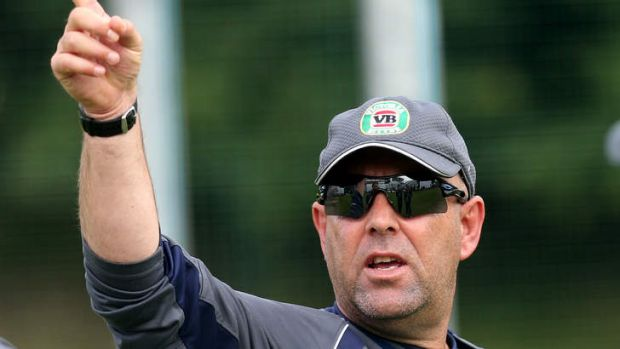 Baptism of fire: Darren Lehmann.
