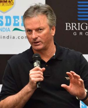 "Steve Waugh: ""It took a long while for me to get it right as well. But I had the benefit of getting it wrong."""
