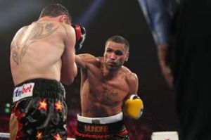 Anthony Mundine lost on points to Daniel Geale earlier this year.