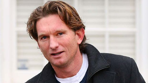 Essendon coach James Hird: ''We're obviously going to defend ourselves vigorously. We're going to contend the charges, ...