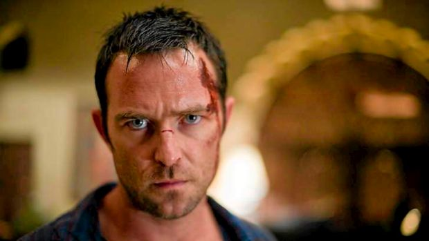 Sullivan Stapleton, in a scene from the HBO action series <i>Strike Back</i>.