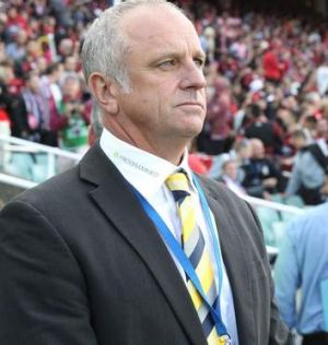 """""""Finally it gives us more of an opportunity to change tactics during a game with more options"""": Graham Arnold."""