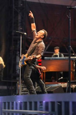 Man of his word: Bruce Springsteen.