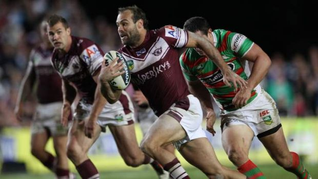 The key: Manly's winning record over the past two seasons with Brett Stewart in the side is 72% compared to 36% without him.