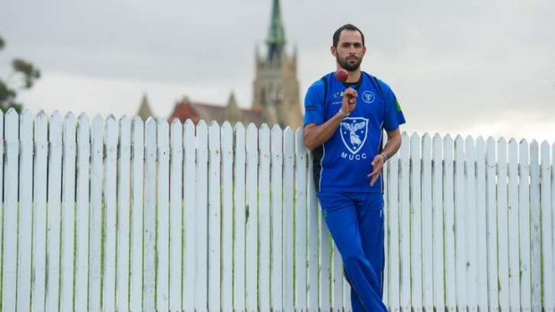 From new citizen to representative: Fawad Ahmed is in line to make his national debut.