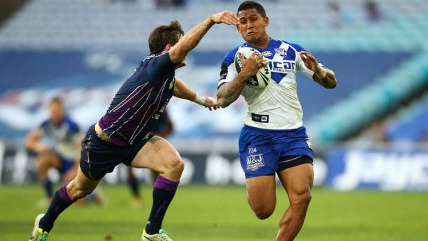 Family man: Bulldogs superstar Ben Barba.