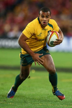 """Up to speed: There'll be no pushed passes or fumbled catches against the All Blacks, says Will Genia. """"We want to play ..."""