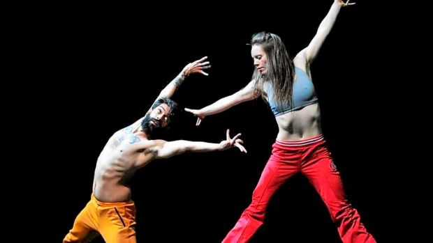 Dancers from the Australian Dance Theatre in <i>Proximity</i>.