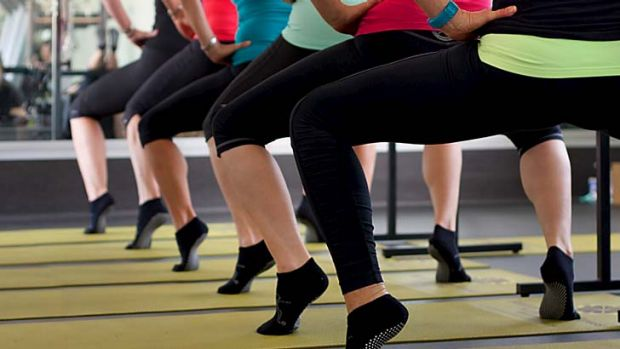 Called to the barre: Ballet exercises help strengthen muscles in the buttocks and legs