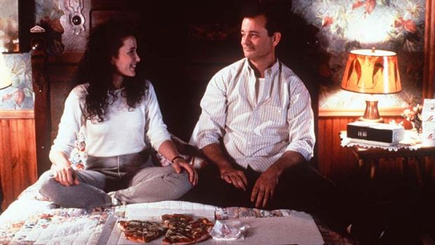 Over and over: Andie MacDowell and Bill Murray in <em>Groundhog Day</em>.