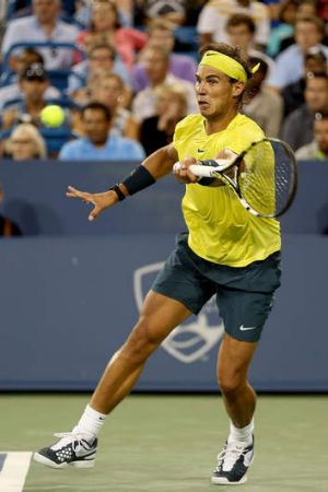 Rafael Nadal needs to win the Cincinnati event to move to No.2 in the world.