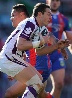 Man of influence: The Storm's Billy Slater.