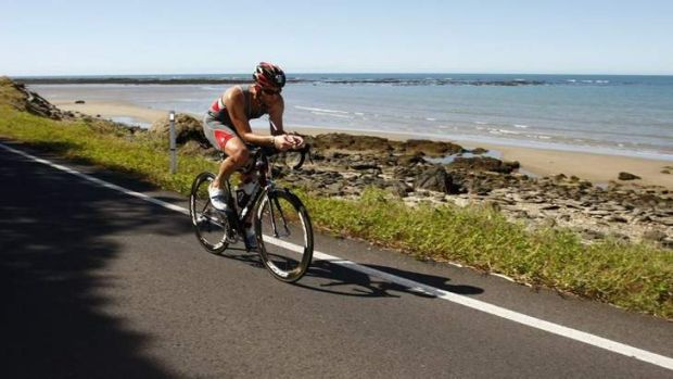 Les Karayan loved riding and had competed in a number of amateur triathlons.