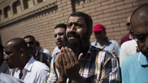 A friend of Ammar Badie, the son of Muslim Brotherhood's spiritual leader Mohammed Badie, who was killed Friday by ...