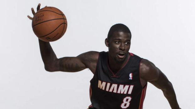 Heading west: Miami Heat draftee James Ennis will be a key weapon for the Perth Wildcats.