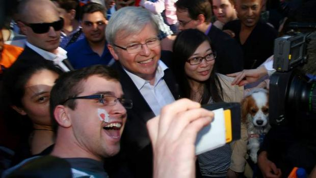 Prime Minister Kevin Rudd. Photo: Andrew Meares
