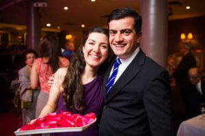 Family ties … Dastyari with his sister, Azadeh, last November.