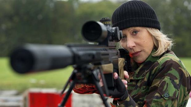 Killer shot: Helen Mirren reprises her role as an assassin in <i>Red 2</i>.