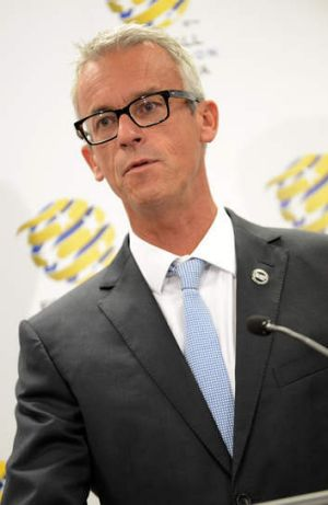 FFA chief David Gallop