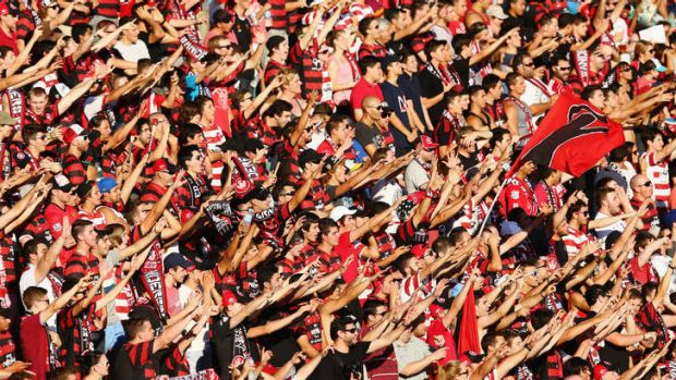 Sought after: The Western Sydney Wanderers were a huge success in their first A-League season.