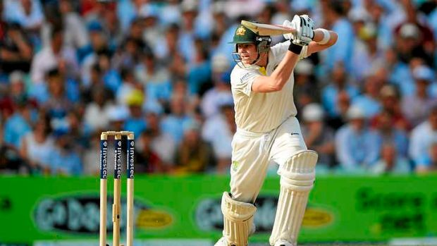 Support role: Steve Smith is not out 66 at stumps.