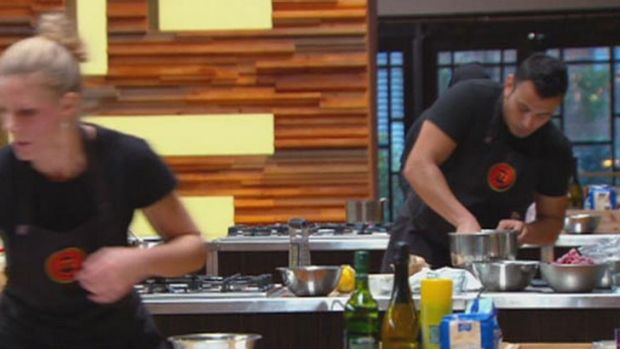 """Push Rishi!"" ... Rishi shows no sign of pushing, or listening on <i>MasterChef</i>"