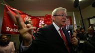 Rudd: 'I have a habit of coming back' (Video Thumbnail)