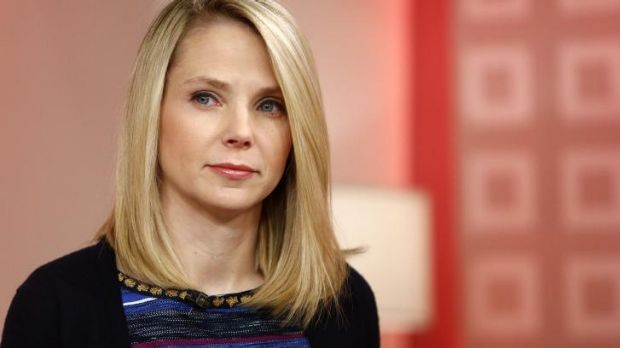 Yahoo chief executive Marissa Mayer.