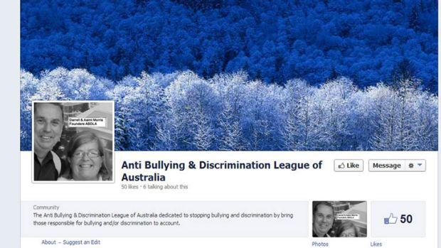 The anti-bullying Facebook page.