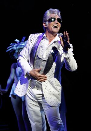 Todd McKenney glitters as Teen Angel, a role that's been reworked especially for him in the new touring production of ...