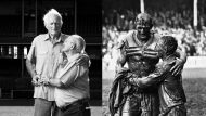 Now and then... Norm Provan and Arthur Summons.
