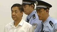 Bo Xilai enters court in China