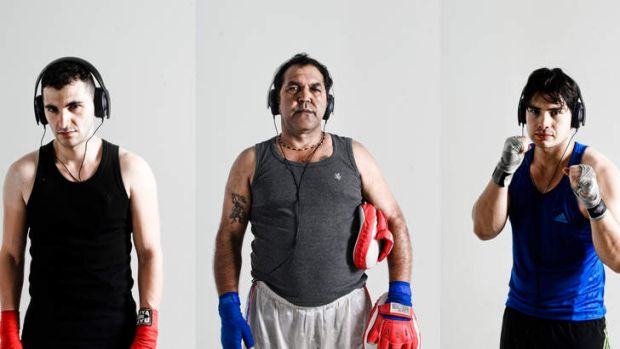 <i>I'm Your Man's</i> performers deliver actual dialogue from boxers past and present.