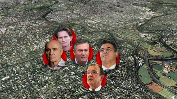 Tense in Toorak with these five men living so closely together.