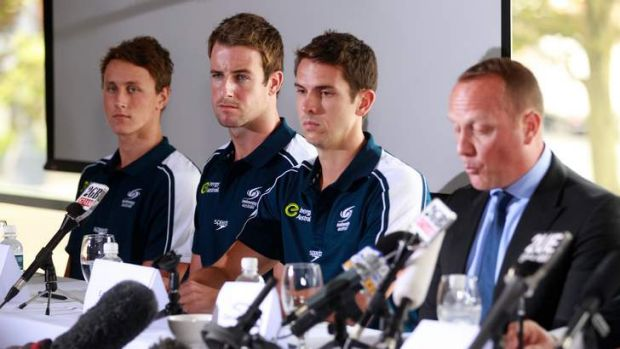 Confession time: swimmers front the media to admit to their behaviours in London - bringing the swim team into ...