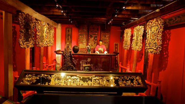 Sanctuary: This Chinese Joss House in the McCrossin's Mill Museum in Uralla originally came from the Rocky River ...