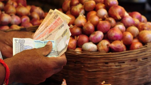 Food staple: The cost of onions has soared.