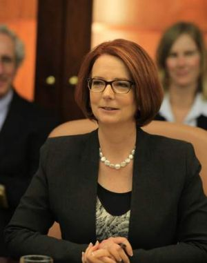 Not in the game, still copping the blame: Julia Gillard.