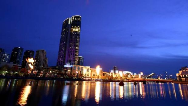 Some blue sky: VIP gaming revenue was up at Crown, but basic games and pokies were down.