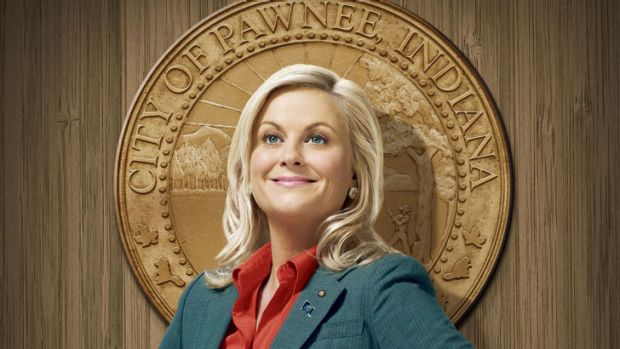 Amy Poehler as Leslie Knope in <i>Parks and Recreation</i>