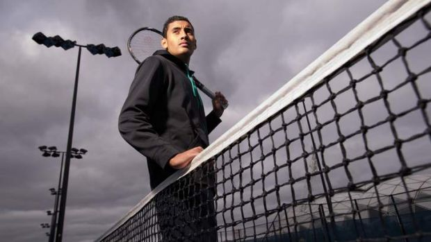 Nick Kyrgios, the world's top-ranked junior, will play seasoned Spaniard David Ferrer in the US Open first round.