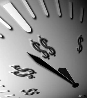 Time is money: A drop in the dollar boosted good returns.