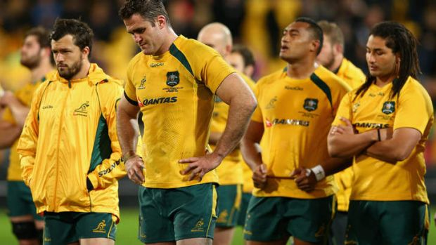 Groundhog day:  it was the same old story for the Wallabies.