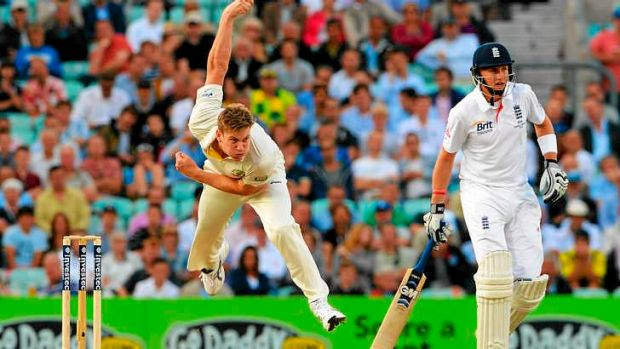 Test tyro James Faulkner has signalled a more aggressive intent from Australia.