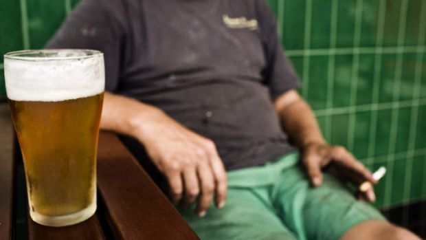 Risky: Binge drinking has serious health issues.