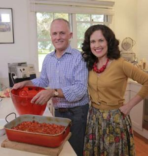 Malcolm Turnbull during his visit to Annabel Crabb's <i>Kitchen Cabinet</i>.